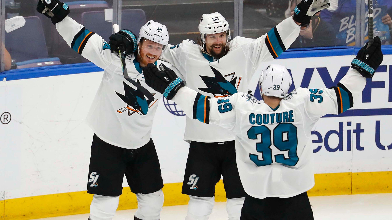 half off 0c5aa 985f7 Sharks draft tracker: Grades for San Jose in the 2019 NHL Draft
