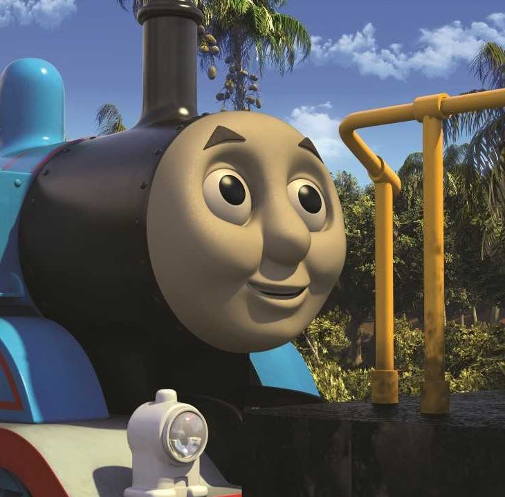 "Thomas is in Brazil for the premiere episode of ""Thomas & Friends"" on Saturday, May 18."