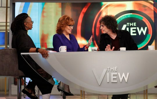 """Howard Stern begged Joy Behar to give Meghan McCain, her """"View"""" co-host and debate opponent """"a chance"""" to speak before interrupting."""