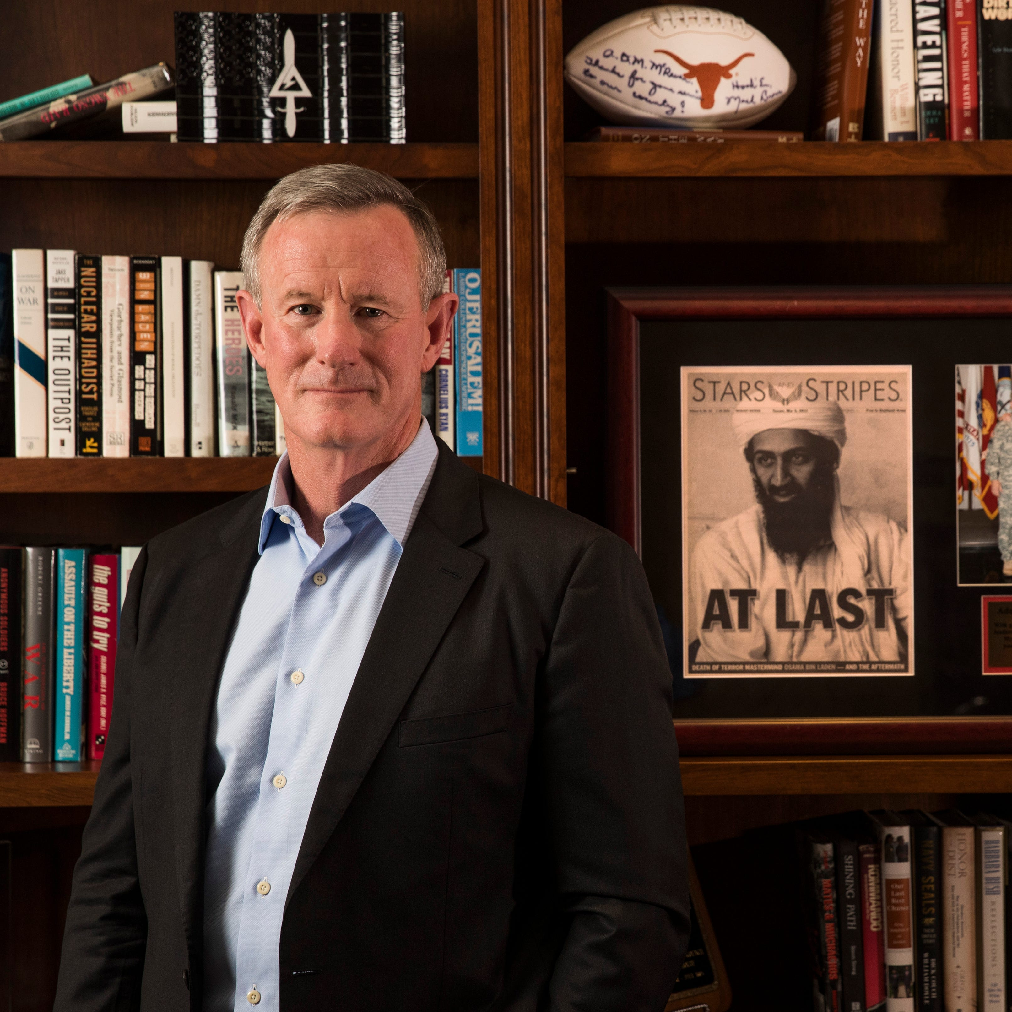 William H. McRaven, a retired Navy admiral, was commander of the U.S. Joint Special Operations Command from 2011 to 2014.