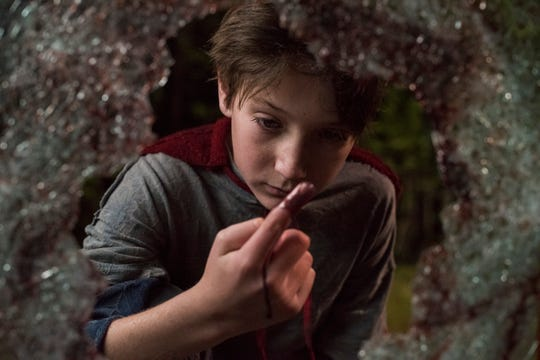 "Brandon Breyer (Jackson A. Dunn) learns he's not an ordinary 12-year-old in the superhero horror film ""Brightburn."""