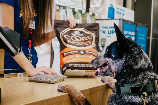 Petco has removed dog and cat food products that do not meet its nutrition standards from its stores and website