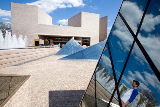 "Architect I.M. Pei once described his design of the National Gallery af Art East Building in Washington as ""all right."" Pei has died at age 102."