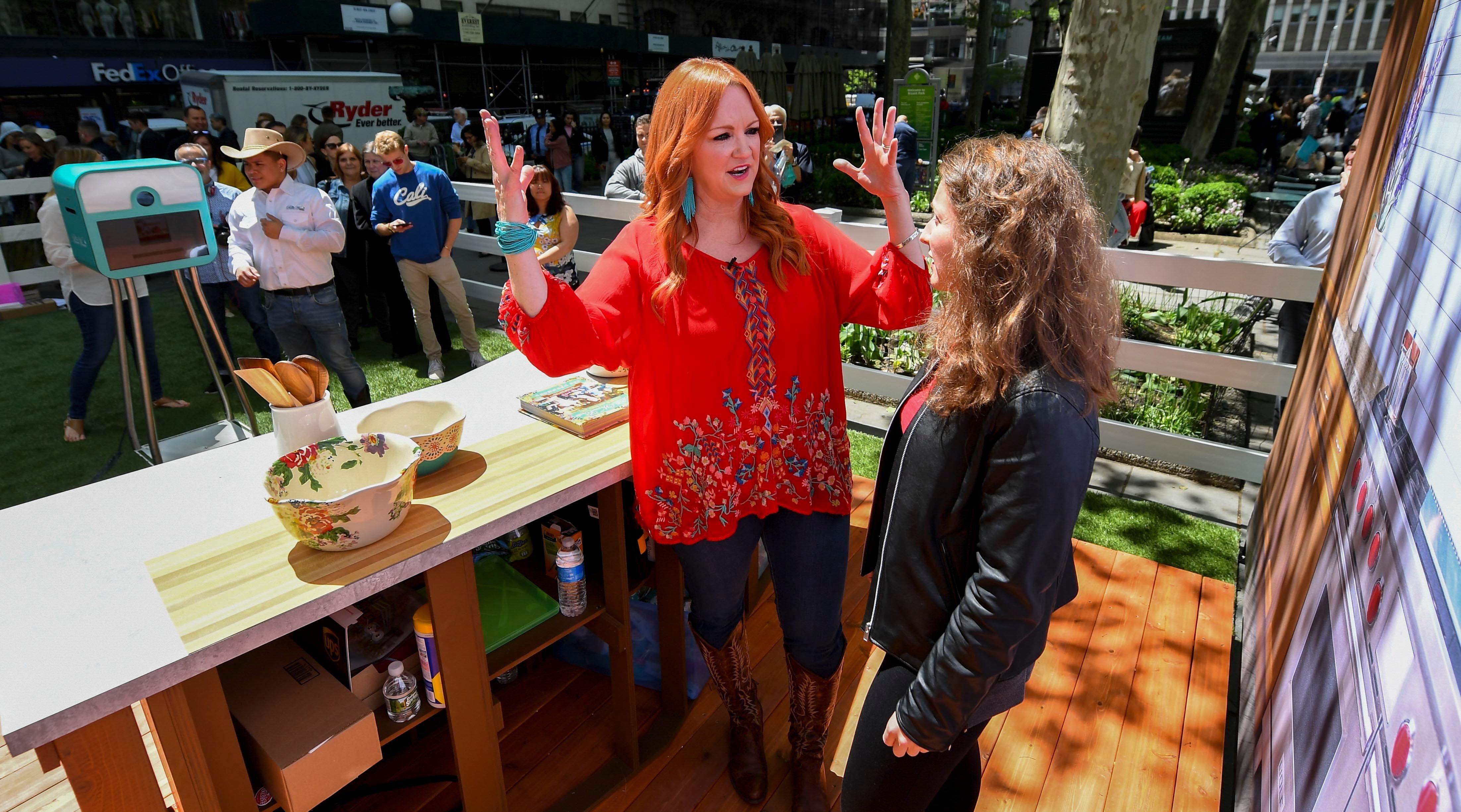 Pioneer Woman Ree Drummond talks food, puppies