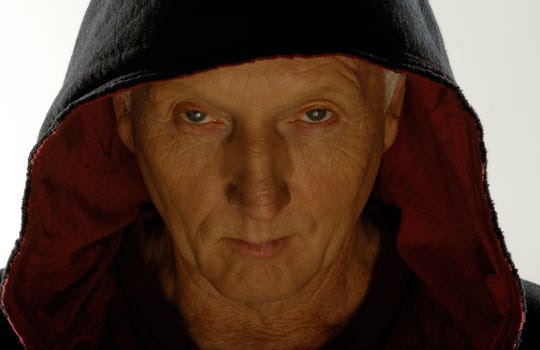 """Tobin Bell plays the diabolical serial killer Jigsaw in the """"Saw"""" movies."""