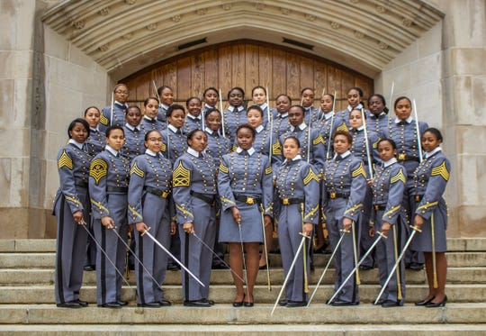 West Point's class of 2019 includes historic number of African-American women