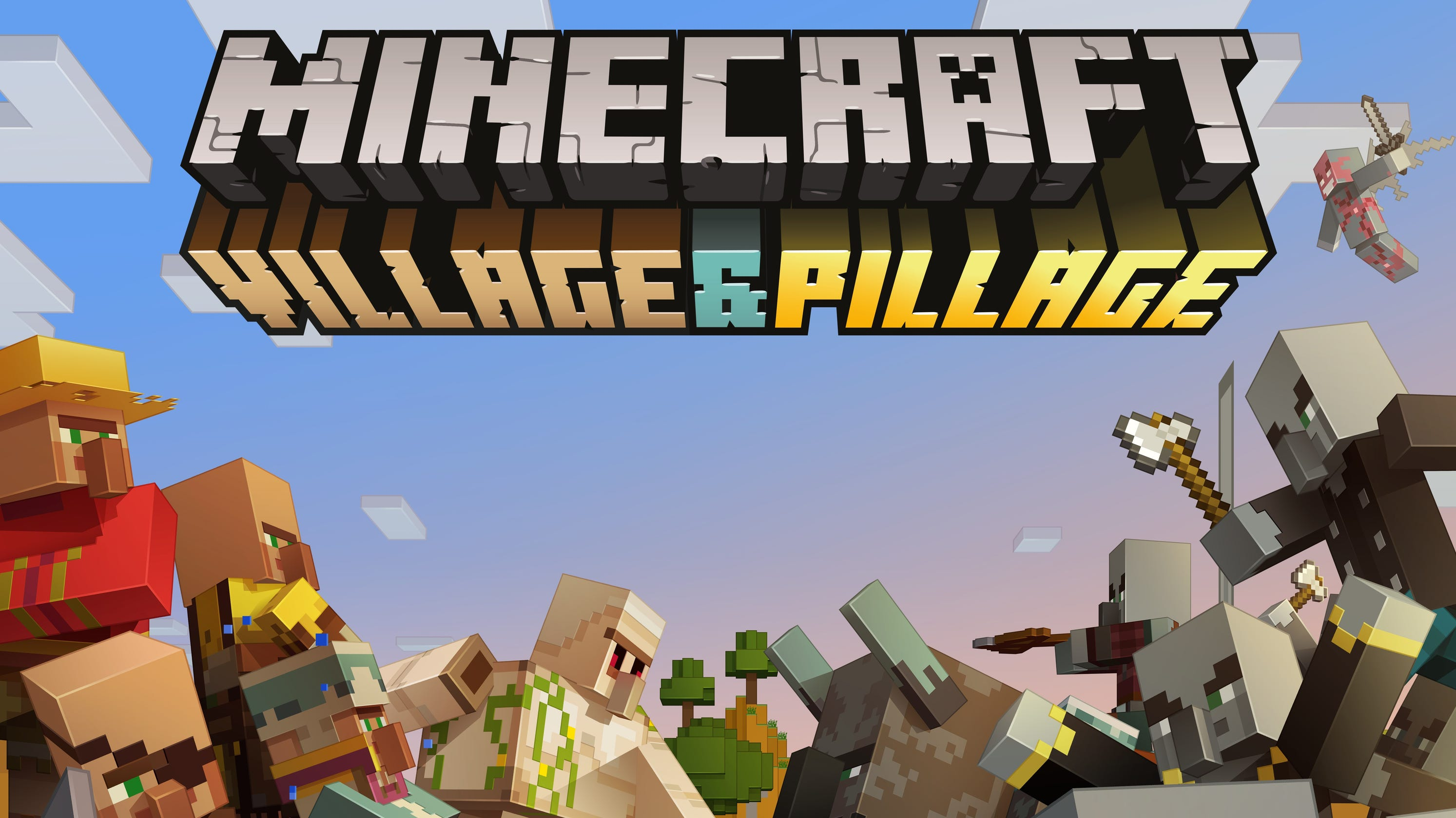 New 'Minecraft' update means better villages, pillagers with crossbows