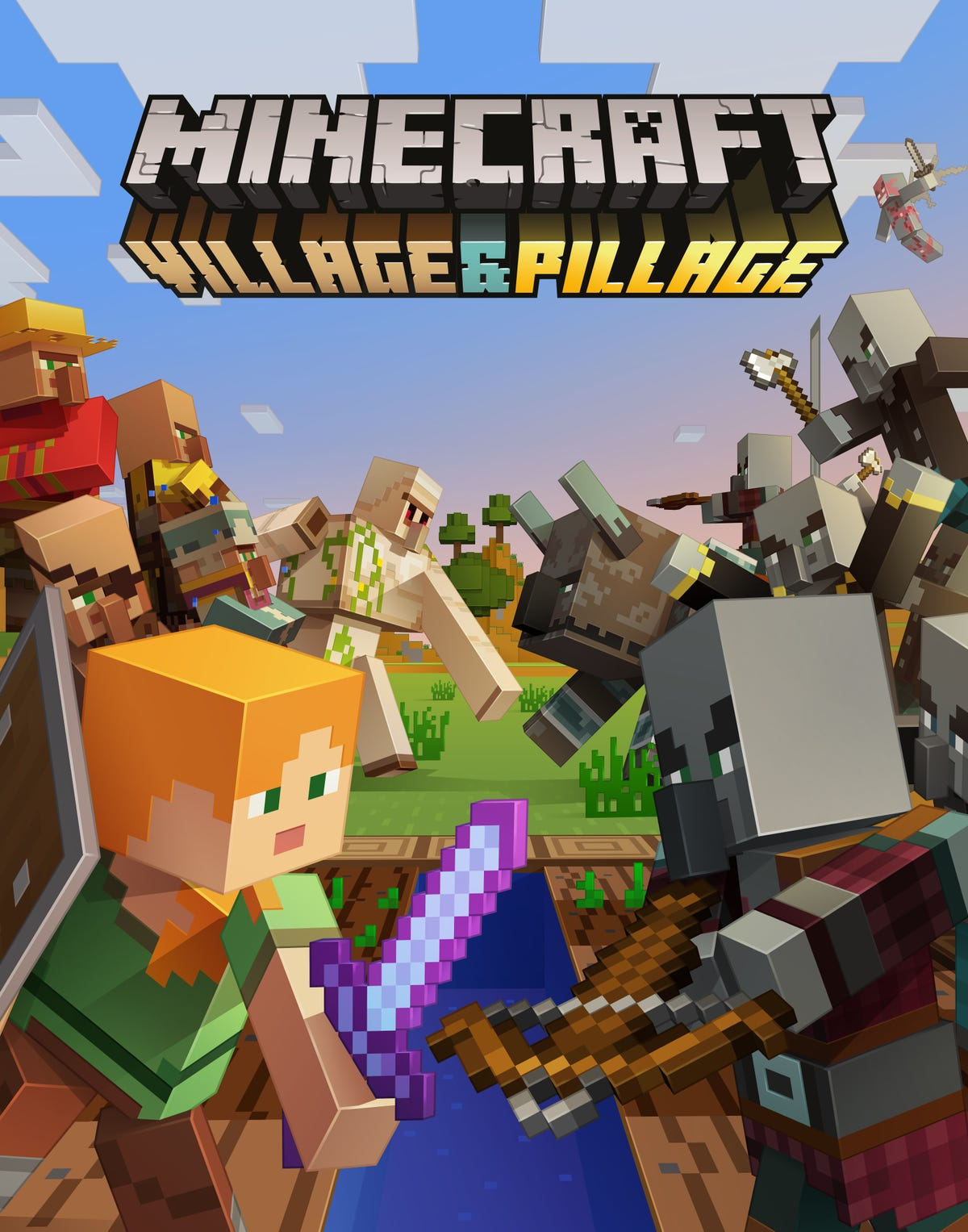 New 'Minecraft' update means better villages, pillagers with