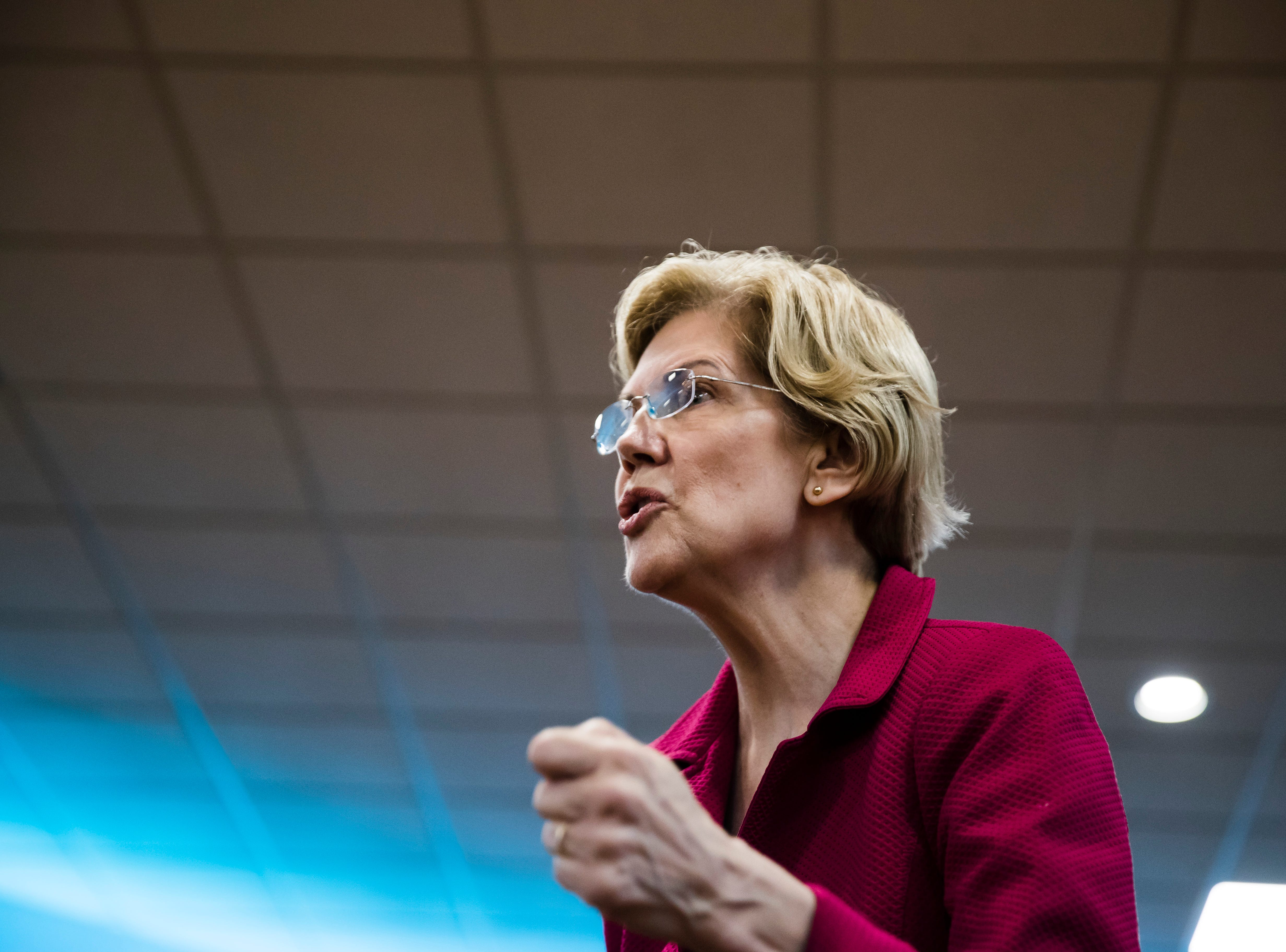 I'm the same age as Elizabeth Warren. We 70-somethings have no business being president.