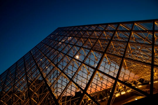 The French hated I.M. Pei's glass pyramid addition to the Louvre when it was unveiled, but later awarded him the Legion of Honor. Pei died May 16 at age 102.