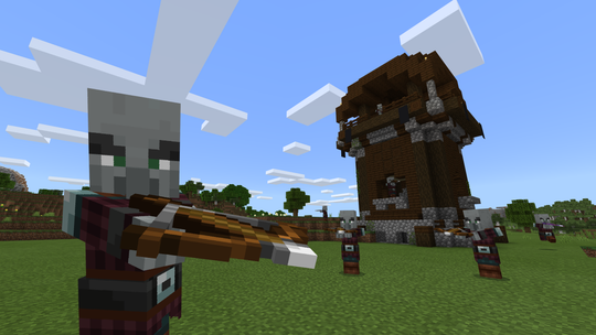 What's better than a bow? A crossbow, of course. This is the main new weapon found in the 'Village & Pillage' update for 'Minecraft.'