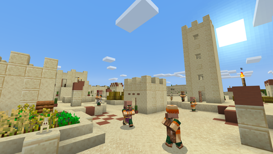 Villages are generated differently now in 'Minecraft,' and enjoy a new look and gameplay elements tied to each biome, or region.