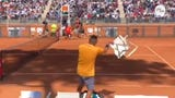 During the Italian Open, tennis pro Nick Kyrgios threw a chair onto the court after receiving an unsportsmanlike conduct penalty.