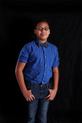 Alex Hart-Upendo is an elementary student from Racine.