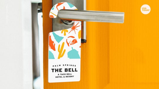 A Taco Bell pop-up hotel is coming to California this summer