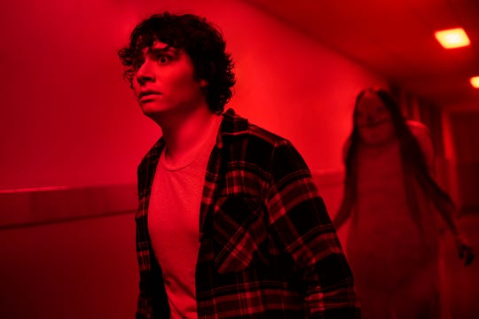 "Austin Zajur plays a teen who has to deal with the Pale Lady in ""Scary Stories to Tell in the Dark."""