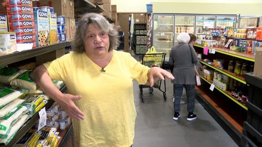 Pat Donaghue, Executive Director of the Peoples Pantry in Toms River, says the facility has lost its major source of food and could close by the end of the year if no new funding sources can be found.