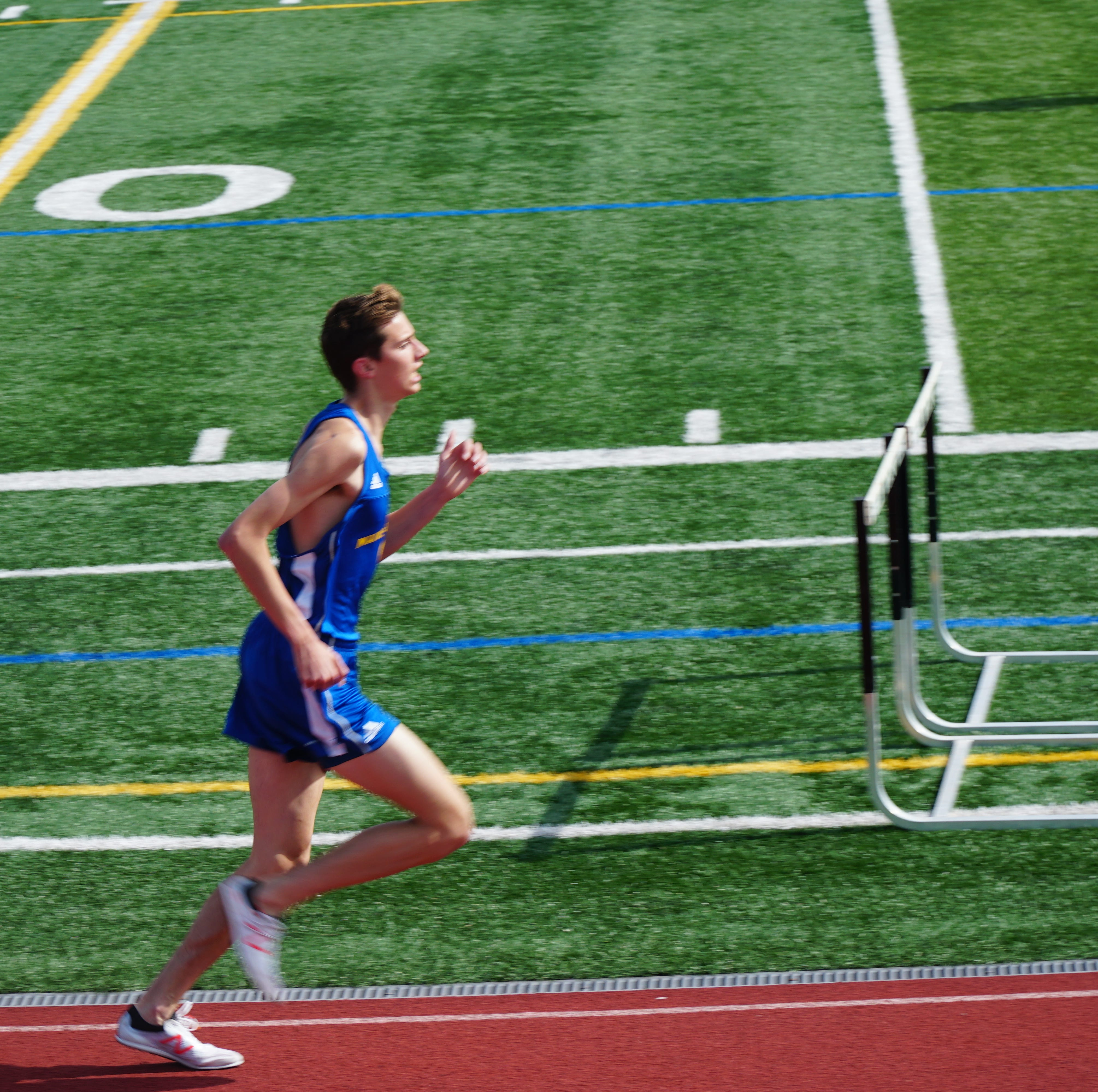 Atop the nation: M-E's Parker Stokes No. 1 steeplechaser