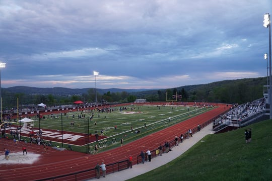 The Southern Tier Athletic Conference Championships wind down Thursday night at Johnson City.