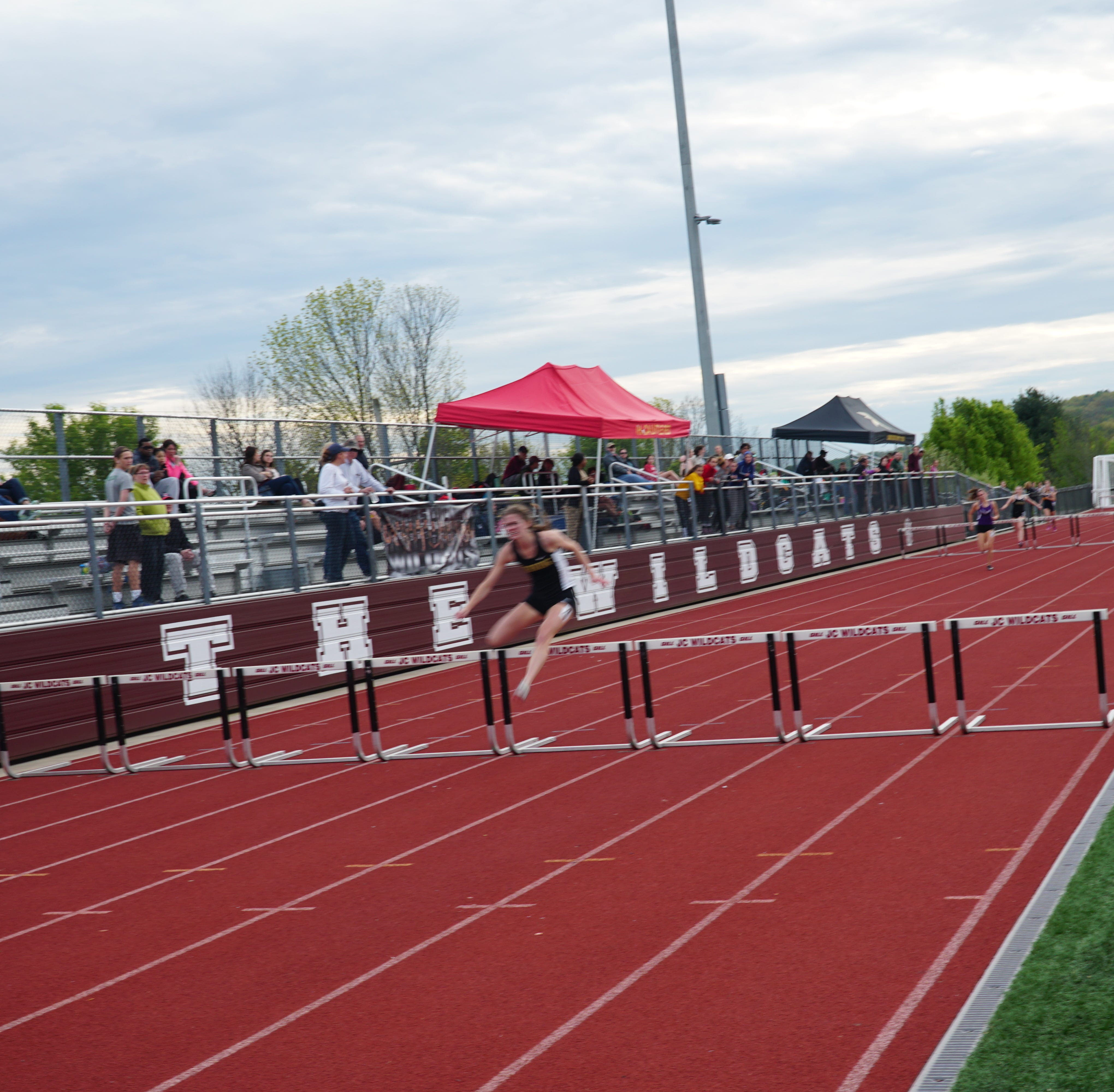 Section 4 record falls in STAC track & field championships