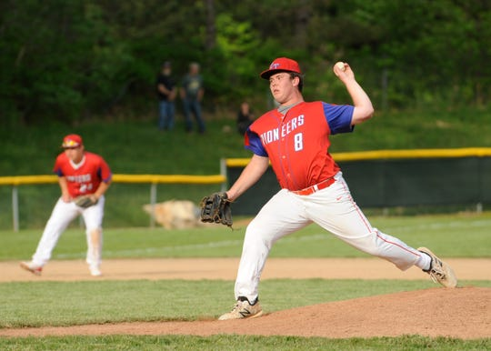 Athens baseball defeated Zane Trace 5-2 Thursday evening at Athens High School in The Plains, Ohio, on May 16, 2019.
