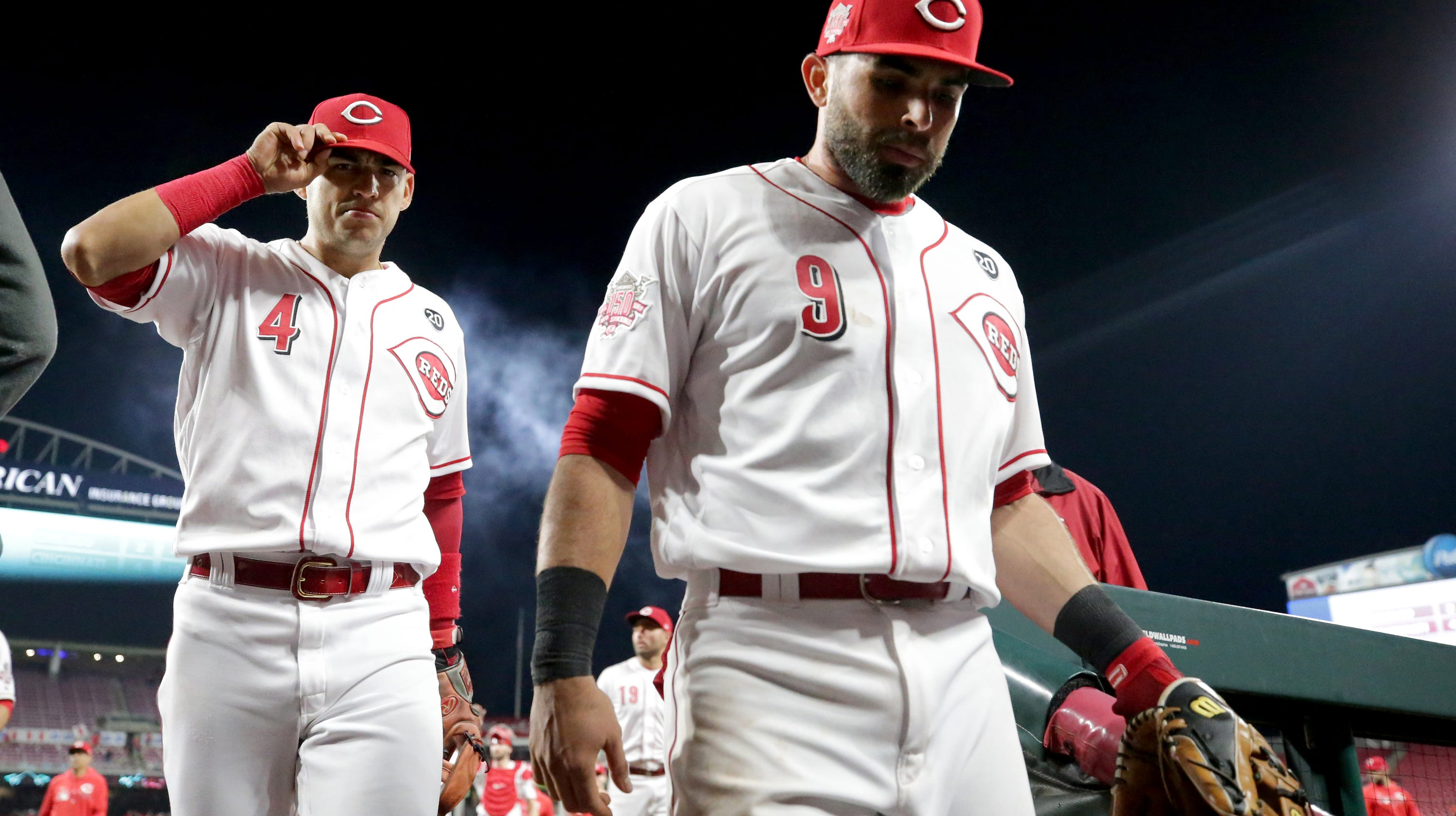 Jose Peraza: Reds-Angels mental lapse video shared by MLB
