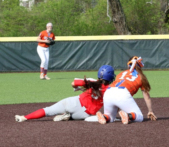 Action from the Interscholastic Athletic Conference softball championship game between Thomas A. Edison and Waverly on May 16, 2019 at Cornell.