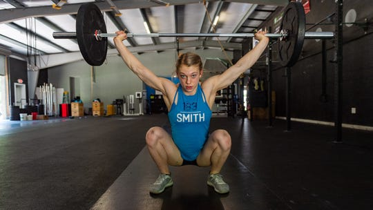 Chloe Smith is currently ranked No. 1 in the world and is set to compete for the title of World's Fittest Teen. Thursday, May 16, 2019.