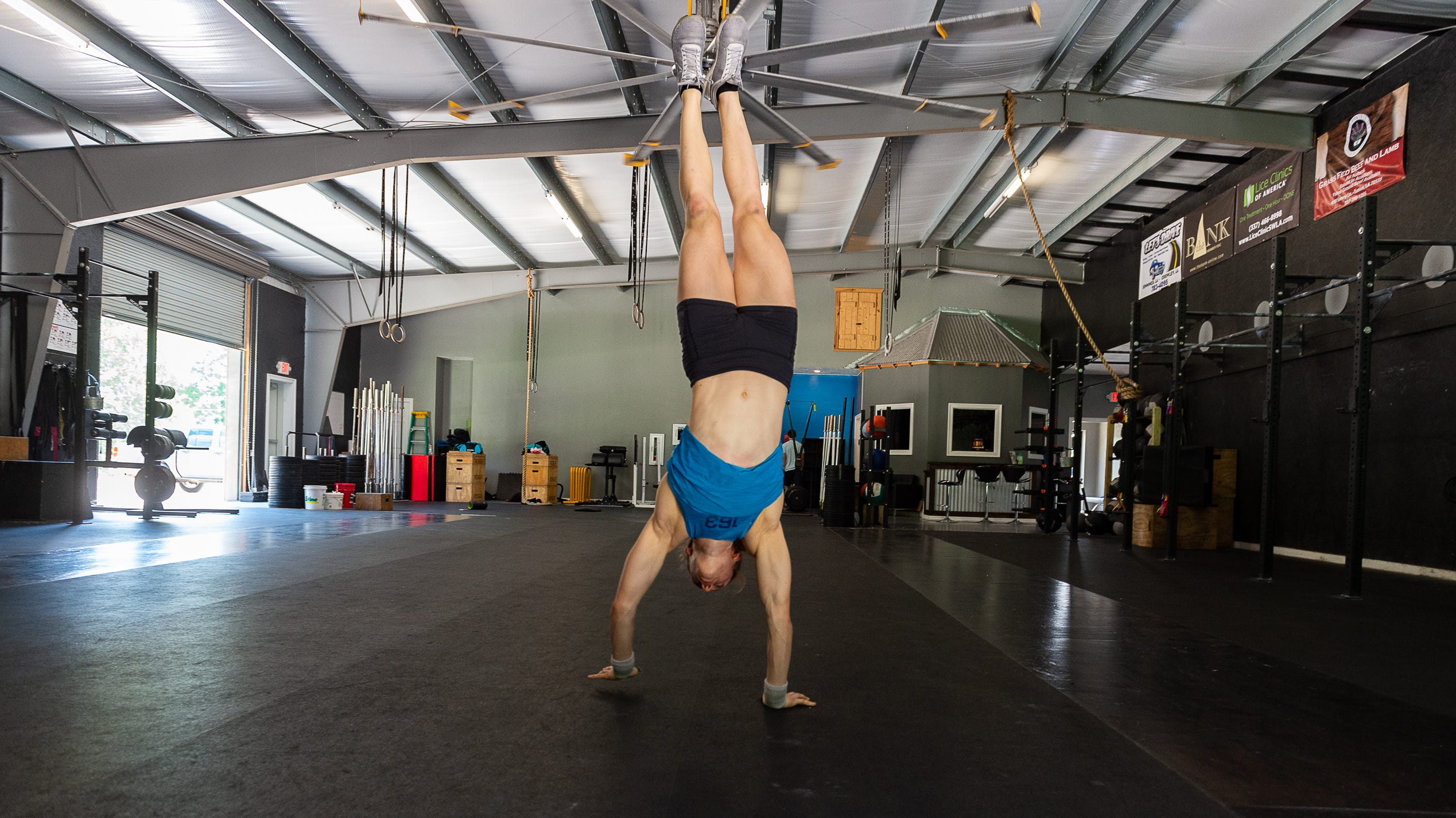 theadvertiser.com - Eric Narcisse, Lafayette Daily Advertiser - Iota CrossFit enthusiast seeks to be World's Fittest Teen one last time