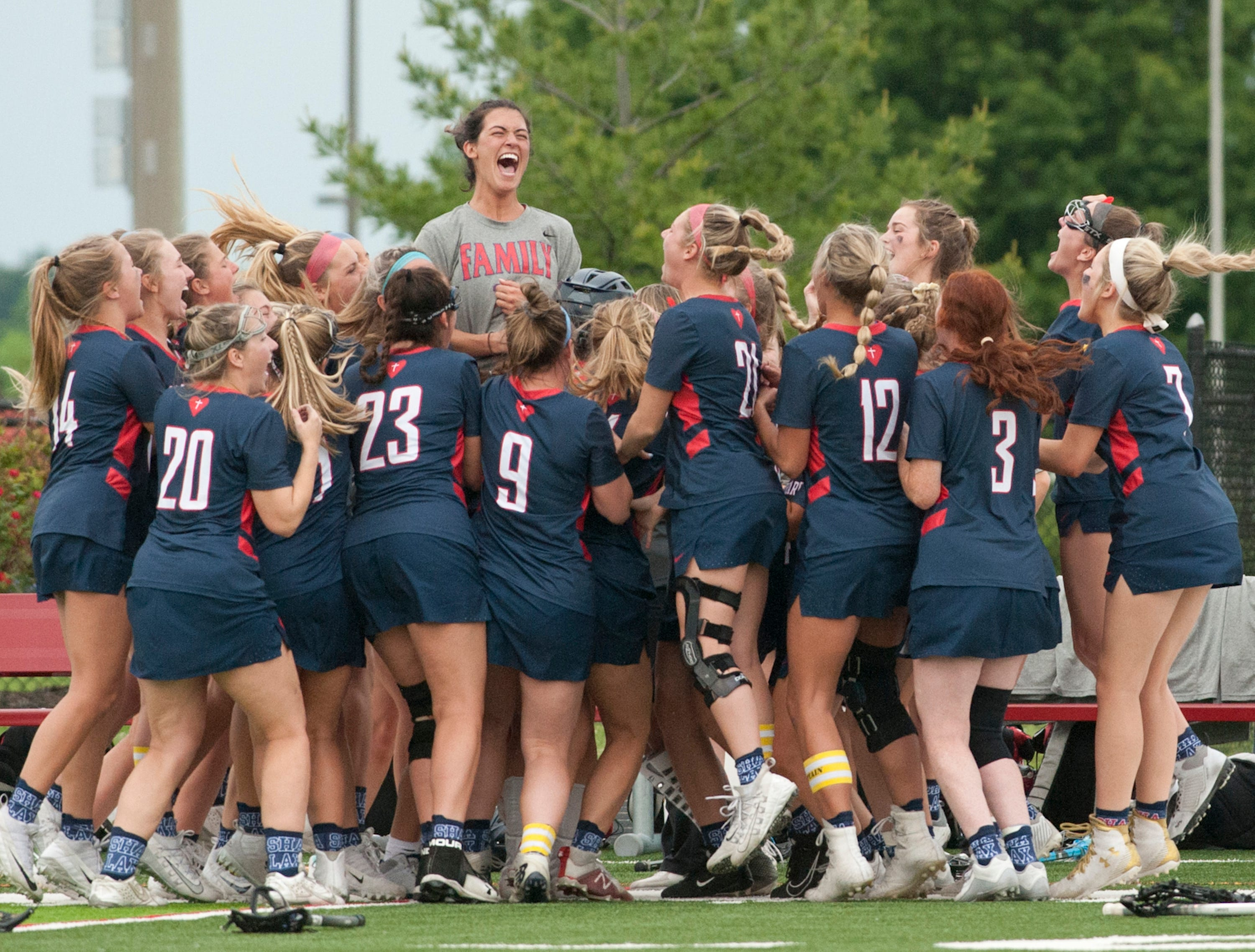 Kentucky girls state lacrosse championship: Sacred Heart and Eastern face off
