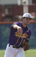 Lexington senior Jacob Depperschmidt was named the 2019 Ohio Cardinal Conference Pitcher of the Year.