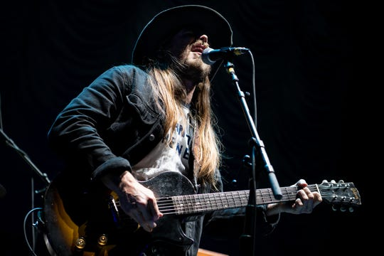 Lukas Nelson and Promise of The Real open for The Who at Bridgestone Arena in Nashville on May 16, 2019.