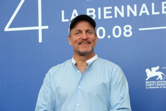 """FILE - In this Sept. 4, 2017, file photo, actor Woody Harrelson poses for photographers at the photo call for the film """"Three Billboards Outside Ebbing, Missouri"""" during the 74th edition of the Venice Film Festival in Venice, Italy. Georgetown University's Center on Privacy and Technology published a report Thursday, May 16, 2019, on what it says are flawed practices in law enforcement's use of facial recognition. The report says the New York Police Department used a photo of Harrelson in its facial recognition program in an attempt to identify a beer thief who looked like the actor. (Photo by Joel Ryan/Invision/AP, File)"""