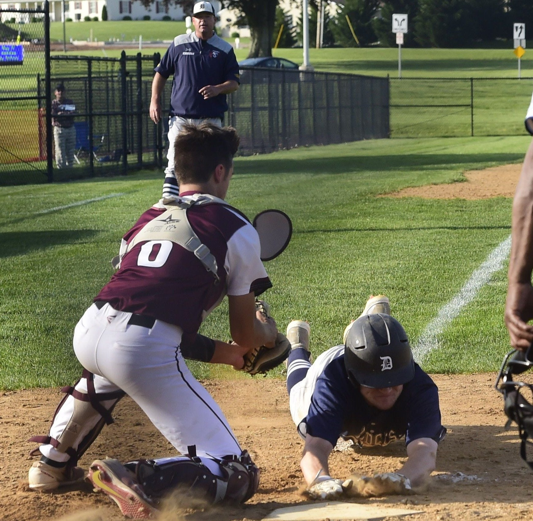 Dallastown center fielder scorching at the plate as team enters district playoffs on fire