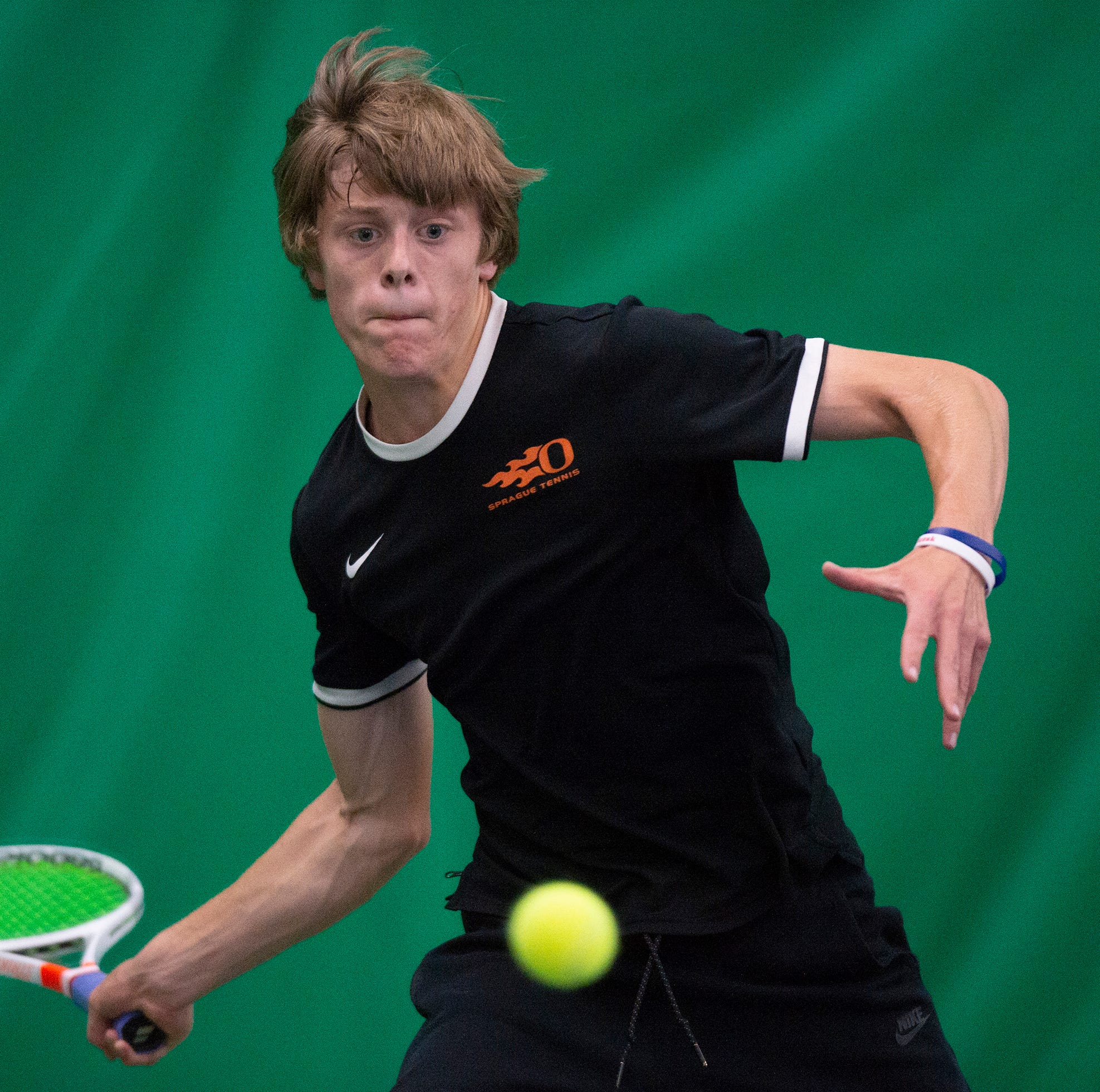 OSAA tennis: Sprague's Judson Blair advances to title match, amid controversy
