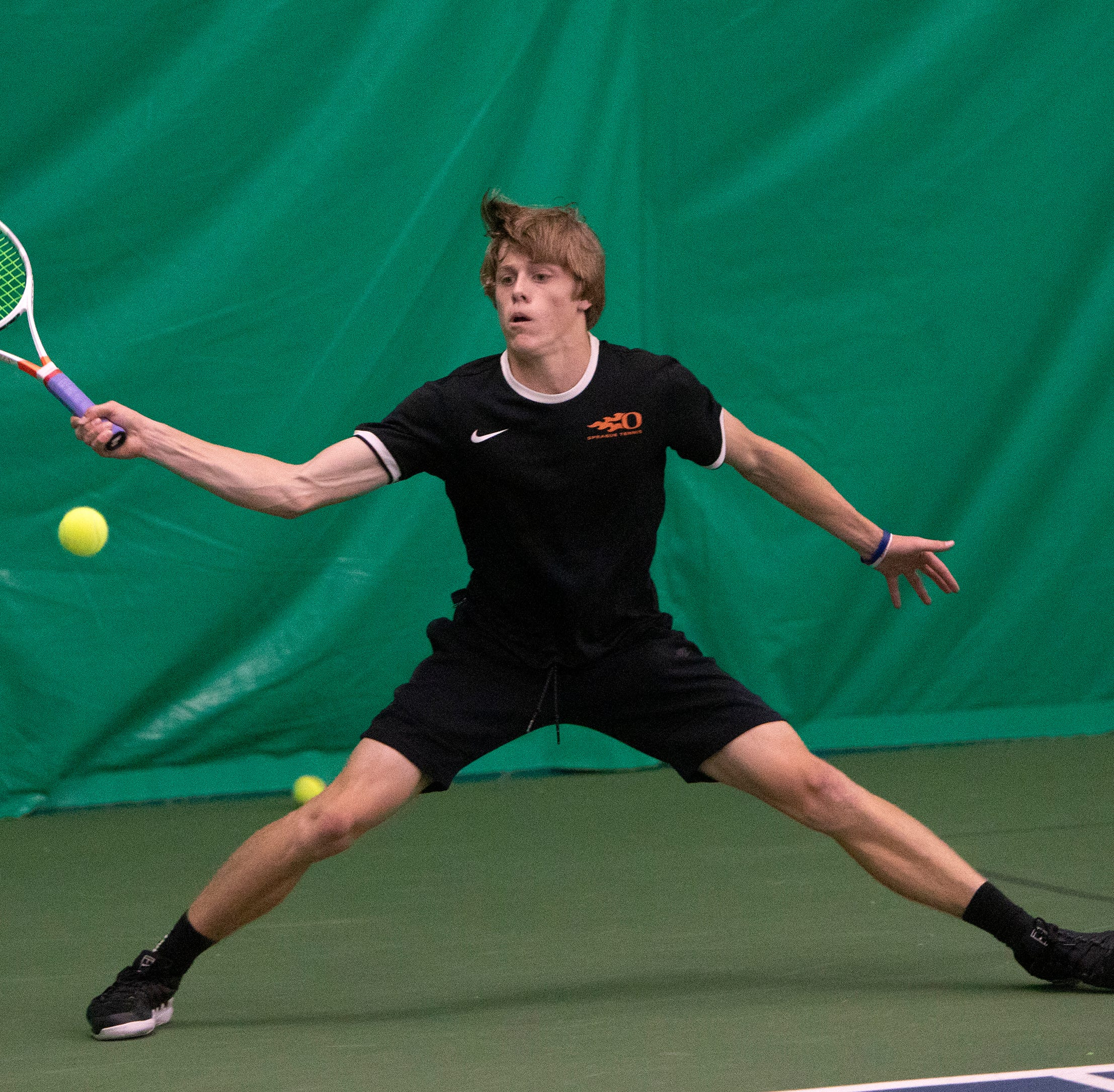 OSAA tennis: Sprague's Judson Blair cruises into state quarterfinals