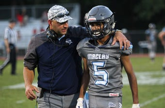 Maclay football coach Lance Ramer talks after spring game win | WATCH
