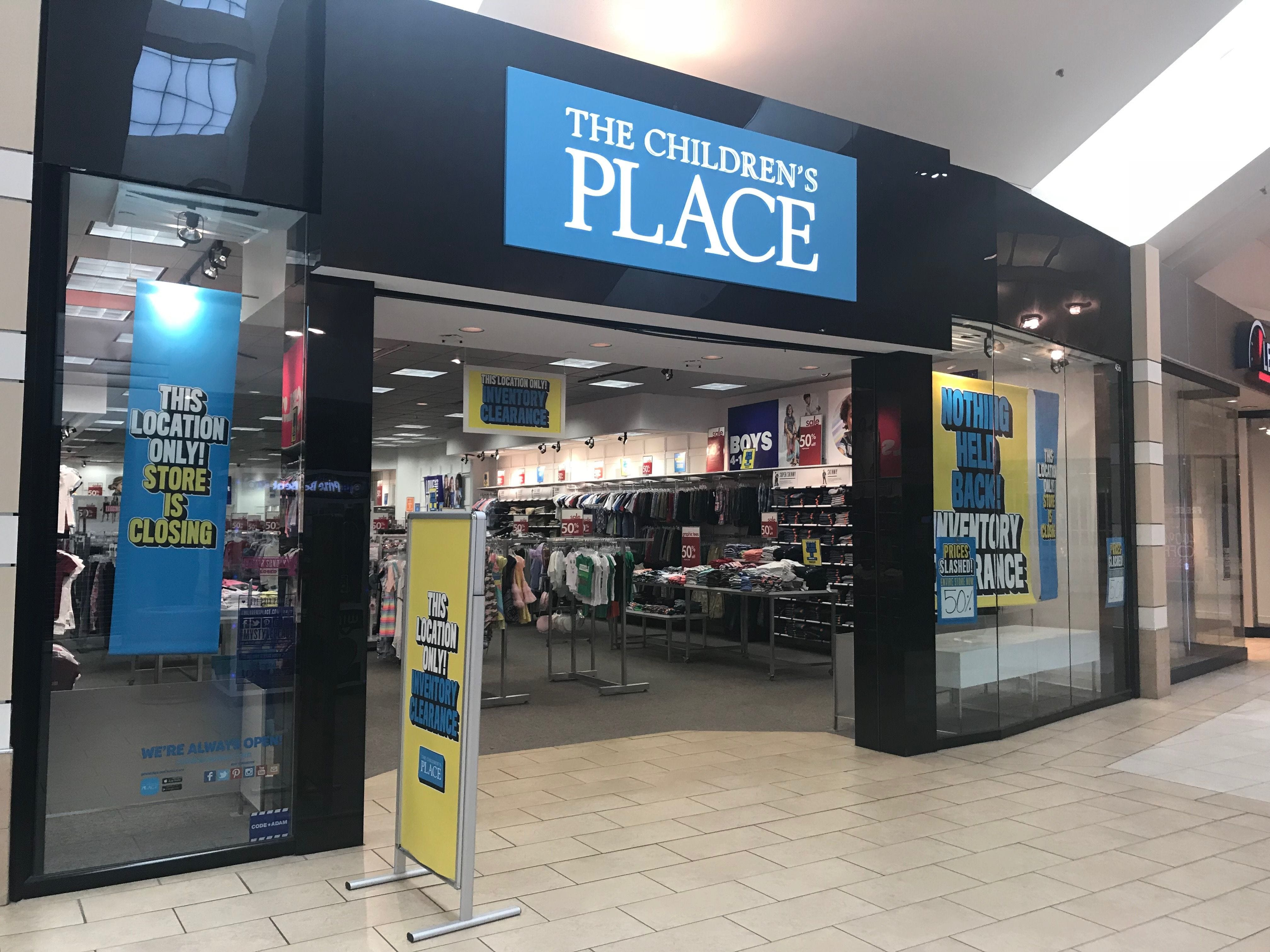 93bc54608 Children's Place prepares for closings and Gymboree brand relaunch