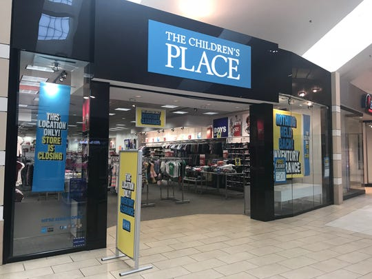 The Children's Place is closing 40 to 45 stores in 2019.