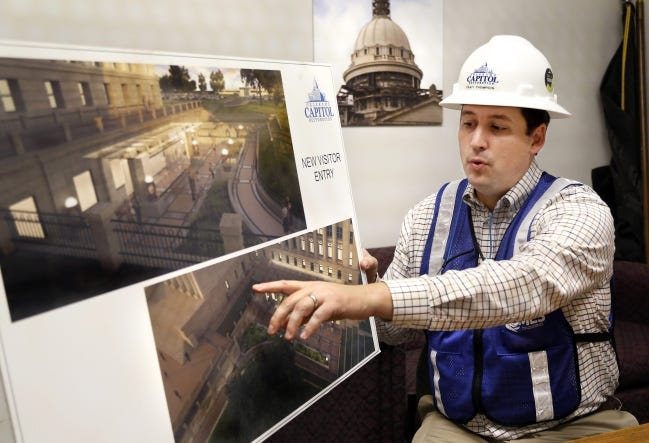 Trait Thompson, who has managed the state Capitol restoration project for the past six years, has been named executive director of the Oklahoma Historical Society. [THE OKLAHOMAN ARCHIVES]