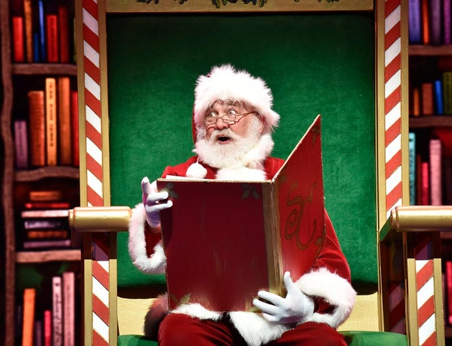 Stephen Hilton will reprise his role as Santa Claus in this year's Oklahoma City Philharmonic Christmas concert, which will be offered as a streaming-only event. [Photo provided]