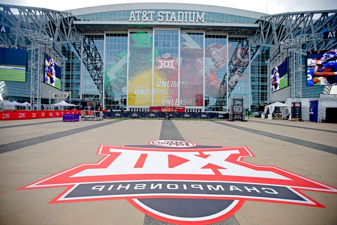 AT&T Stadium in Arlington, Texas, is seen Friday, Dec. 6, 2019, the day before last year's Big 12 Championship Game. This year's title game will be played Dec. 19. [Bryan Terry/The Oklahoman]