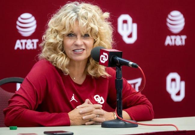 OU women's basketball coach Sherri Coale and the Sooners open their season next Wednesday at home against Houston. [Chris Landsberger/The Oklahoman]