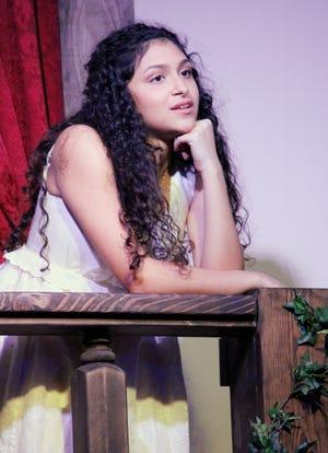 "Nikki Mar starred in Oklahoma Shakespeare's February 2020 production of ""Romeo & Juliet."" [April Porterfield photo]"