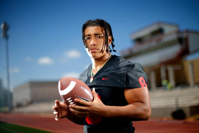 Del City standout Rejhan Tatum signed with Boise State on Wednesday. [Bryan Terry/The Oklahoman]