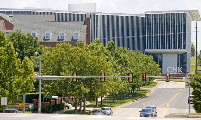 Chesapeake Energy's Oklahoma City headquarters. [THE OKLAHOMAN ARCHIVES]