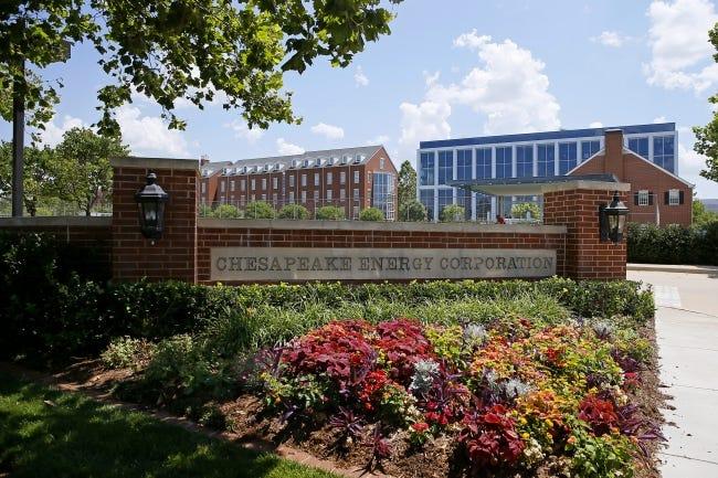 Chesapeake Energy Corp.'s Oklahoma City headquarters. [Bryan Terry/The Oklahoman]