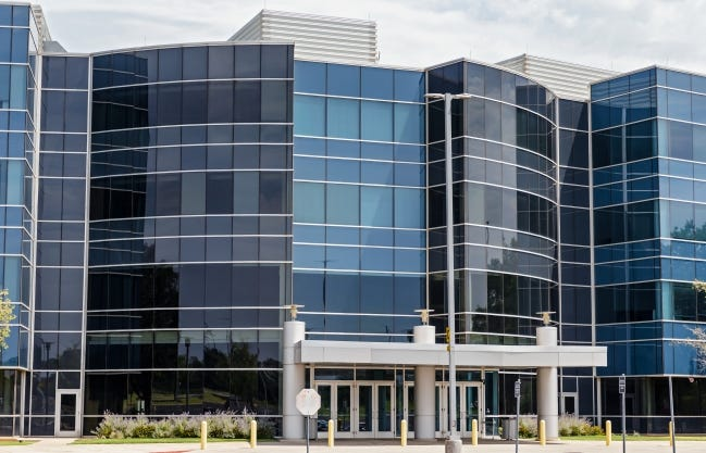 Costco's purchase last May of the former Hertz Corp. building at 14501 Quail Springs Parkway kept the Oklahoma City office market in 2020 from being worse, by occupying 240,000 square feet of space, according to Price Edwards & Co. [CHRIS LANDSBERGER/THE OKLAHOMAN ARCHIVES]
