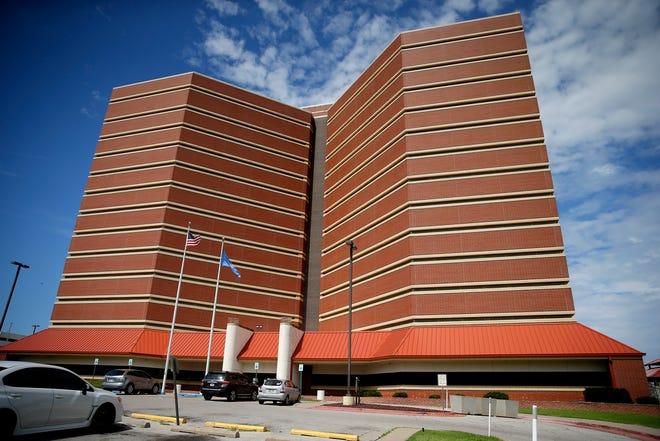 The Oklahoma County jail in Oklahoma City, Monday, July 27, 2020. [Bryan Terry/The Oklahoman]