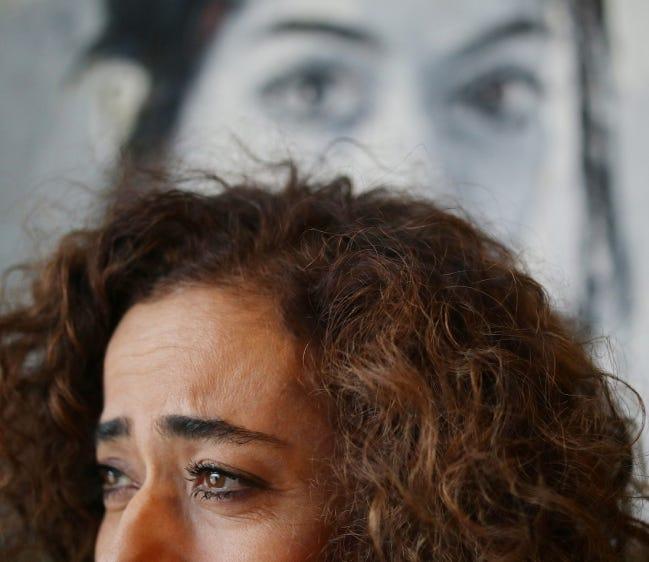 Iranian-American painter Behnaz Sohrabian is seen on Feb. 25, 2020. [Doug Hoke/The Oklahoman Archives]